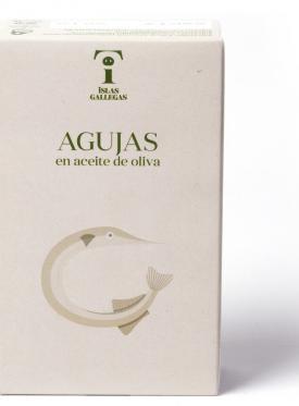 """AGUJAS EN ACEITE DE OLIVA RR125  """"ISLAS GALLEGAS"""""""