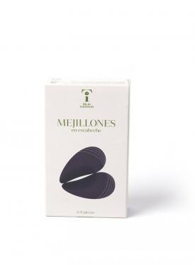 """MEJILLONES EN ESCABECHE RR-125 6/8 \""""ISLAS GALLEGAS\"""""""