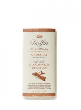 DOLFIN CHOCOLATE LECHE CANELA 70G