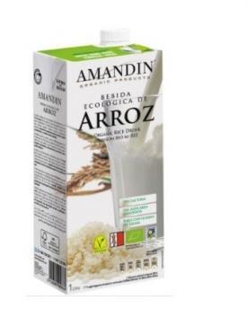 BEBIDA DE ARROZ 1L AMANDIN BIO