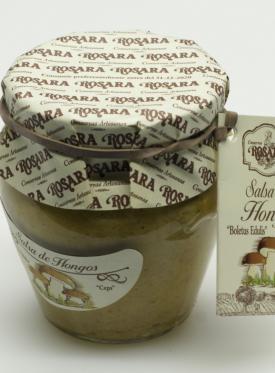 SALSA DE HONGOS 185G ROSARA