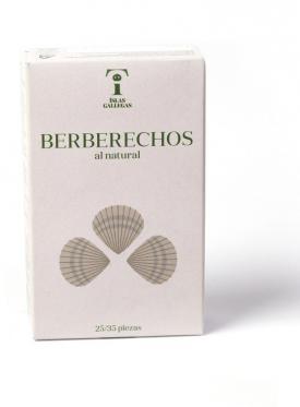 BERBERECHO AL NATURAL 25/35  ISLAS GALLEGAS