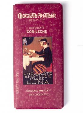 CHOCOLATE AMATLLER CON LECHE 85 GR.