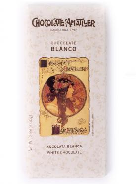 CHOCOLATE AMATLLER BLANCO 850 GR.