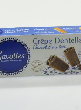 GAVOTTES CREPES CHOCOLATE/LECHE 90G