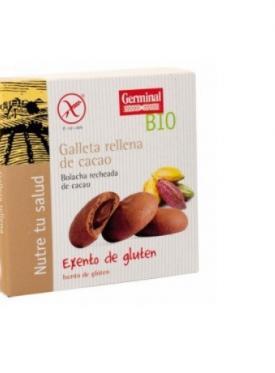 GALLETAS S/GLUTEN RELL. CACAO BIO 200G GERMINAL
