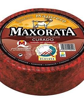 QUESO MAXORATA SEMICURADO C/PIMENTON 1 KILO